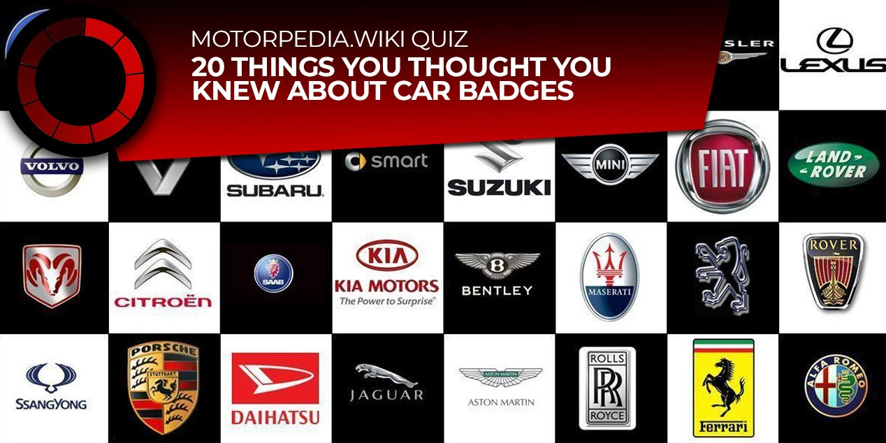 Quiz 20 Things You Thought You Knew About Car Badges Uk Car