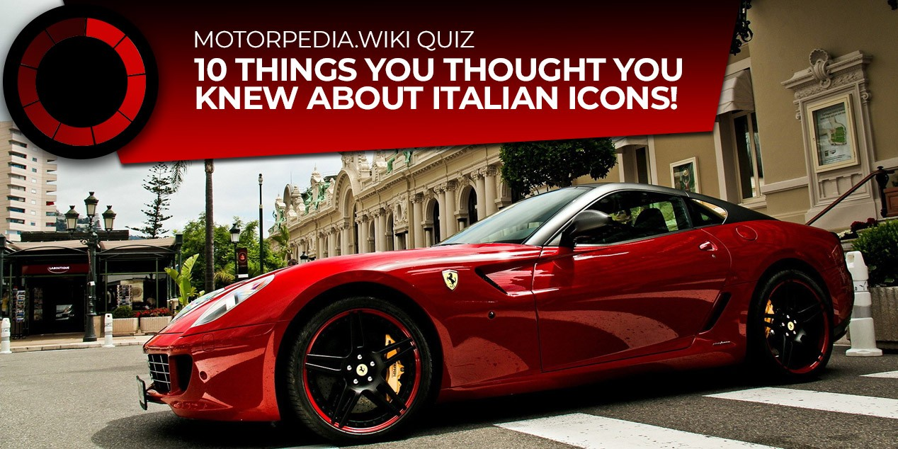 Quiz 10 Things You Thought You Knew About Italian Cars Uk Car