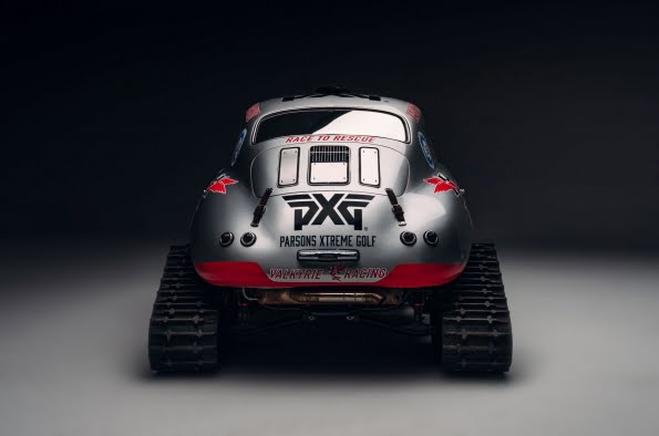 Valkyrie Racing's 356 Porsche transformed to a lightweight beast for the snow in prep for 2021 Antarctic Mission