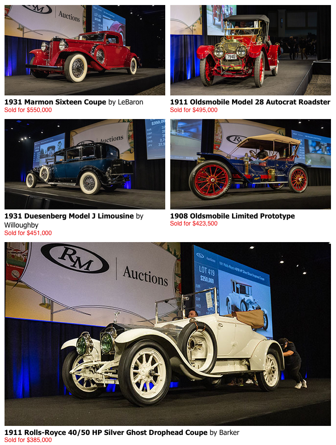 Classic Cars at RM Auctions